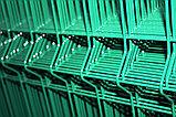 Ограждение 3D в покрытие цинк+полимер, фото 2
