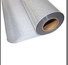 Термо флекс 0,5мх25м серебро с блестками, фото 2