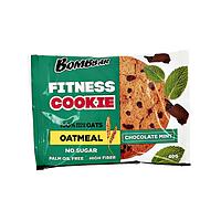 Овсяное фитнес печенье BombBar - Fitnes Cookie, 40 гр Шоколад-мята
