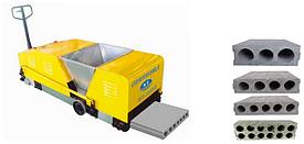 Экструзионная машина для производства стеновых панелей HQJ (Haitian)