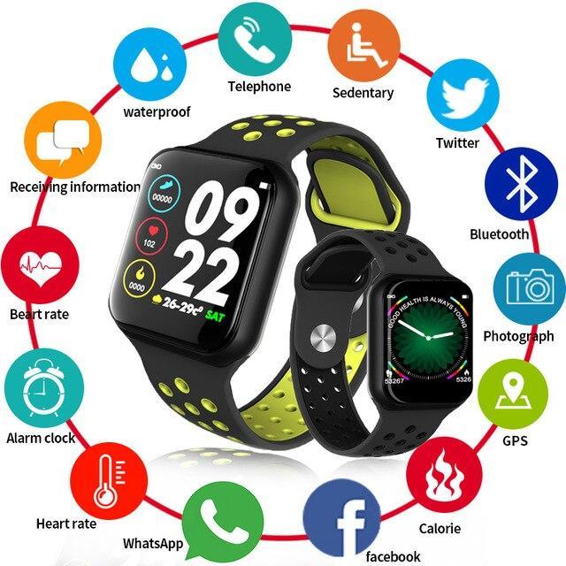 Умные часы Smart Watch F8 ( Давления, пульс, шагомер, калории,часы )