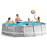 Сборный каркасный бассейн Intex Prism Frame 427*107 см, фото 2