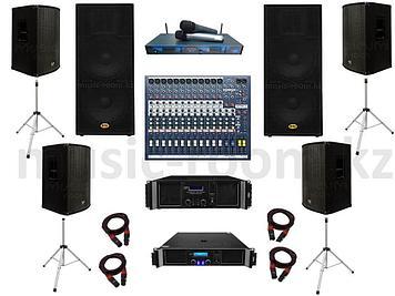 Комплект звуковой аппаратуры 8000 Ватт