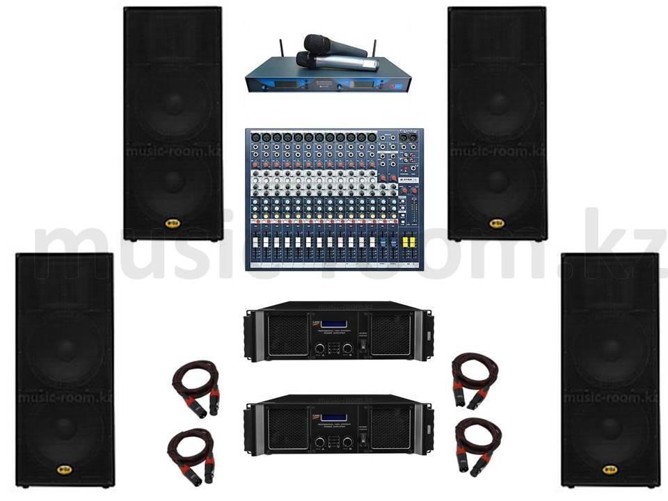 Комплект звуковой аппаратуры 11200 Ватт