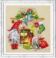 """Набор для вышивания крестом """"В ожидании Рождества"""""""