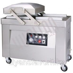 Напольный вакуумный упаковщик HVC-410S/2B (DZ-410/2SB) (нерж.)