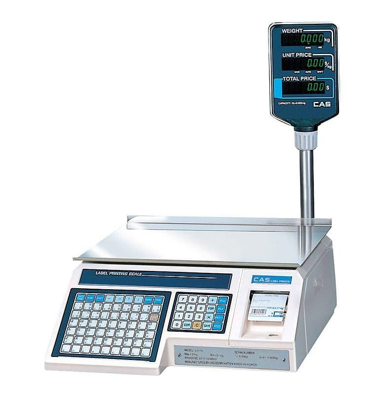 Весы торговые CAS LP-15R (v1.6) TCP-IP
