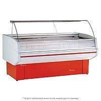 Витрина морозильная Golfstream Двина 150 ВН, красная