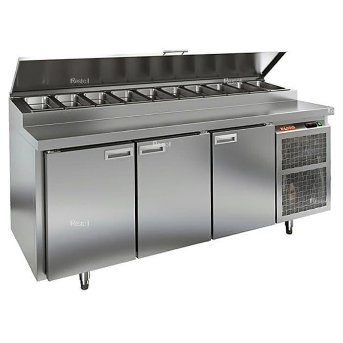 Стол холодильный для пиццы Hicold PZ1-111/GN (10xGN1/3)