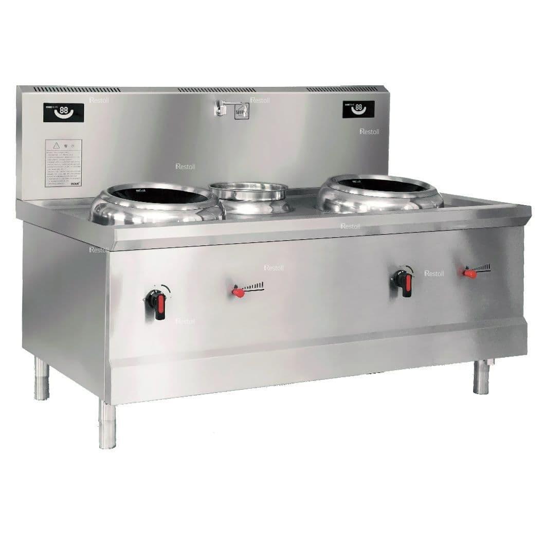 Плита индукционная Ecokitchen IND-A0W-B16*2FL