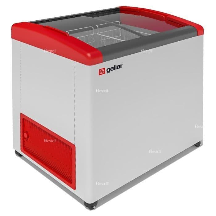 Ларь морозильный Frostor GELLAR FG 250 E красный