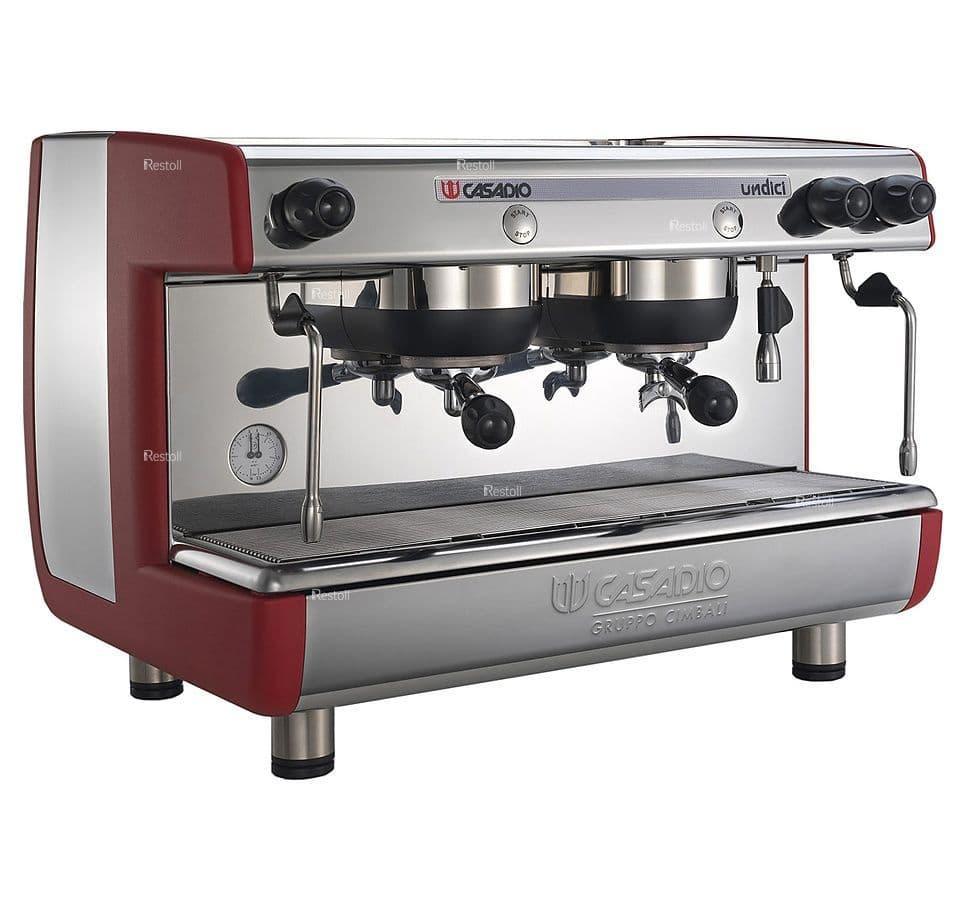 Кофемашина рожковая Casadio Undici S2 красная