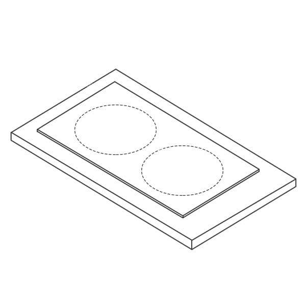 Плита электрическая Kovinastroj (Kogast) ESC-2AD DI