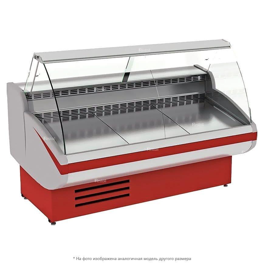 Витрина холодильная EQTA Gamma-2 1200 жемчужно-белая