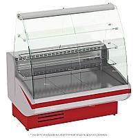 Витрина кондитерская EQTA Gamma-2 K 1350, красная