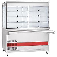 Прилавок-витрина холодильный ABAT «Аста» ПВВ(Н)-70КМ-С-01-ОК