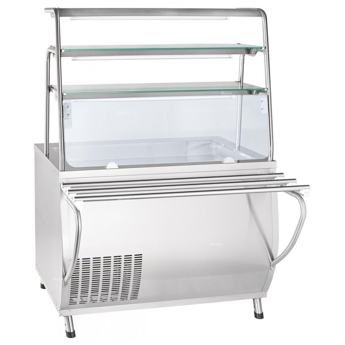 Прилавок-витрина холодильный ABAT «Премьер» ПВВ(Н)-70Т-НШ