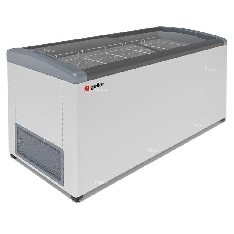 Ларь морозильный Frostor GELLAR FG 575 E серый