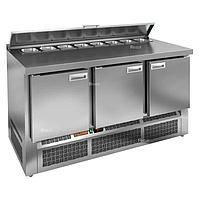 Стол холодильный для салатов (саладетта) Hicold SLE2-111GN 8xGN1/6