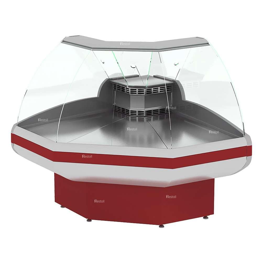 Витрина холодильная EQTA Gamma-2 ОС 90 Д (ВПС 0,21-0,92)