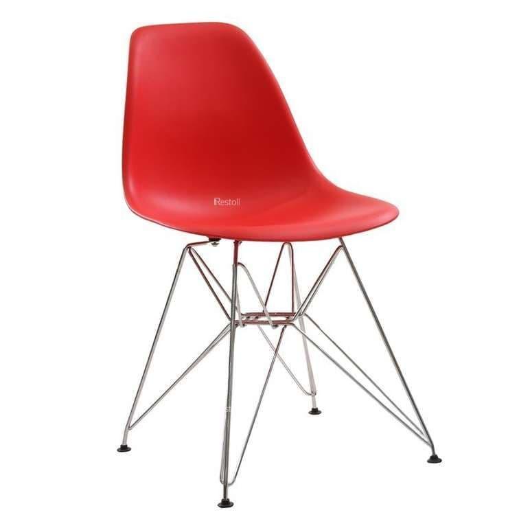 Стул Eames Metal красный