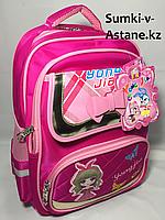 Школьный рюкзак для девочек с 1-го по 3-й класс.Высота 41 см, ширина 29 см, глубина 14 см., фото 1