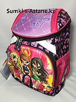 Школьный ранец для девочек с 1-го по 3-й класс.Высота 38 см, ширина 26 см, глубина 14 см., фото 1