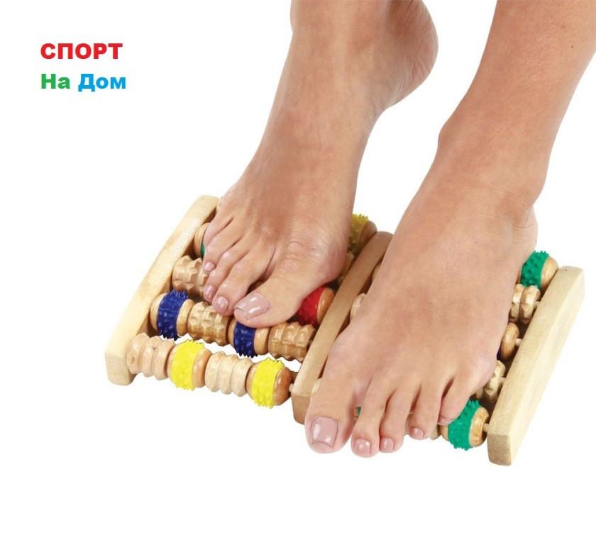 Массажер для ног зубчатый