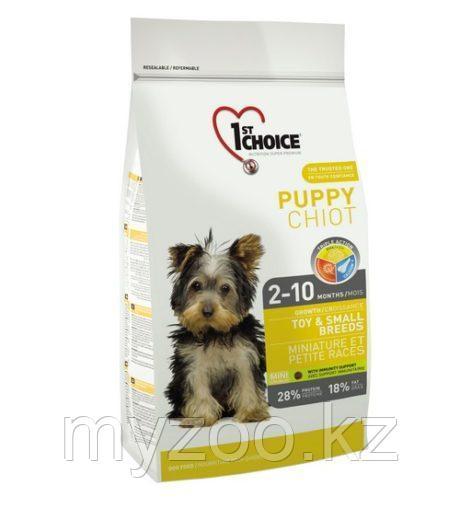 1st Choice Puppy Toy and Small breeds (Фест Чойс) » корм для щенков миниатюрных и мелких пород 2,7 кг