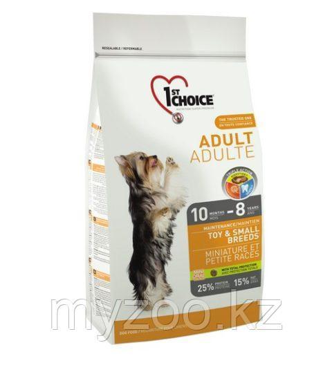 1st Choice Adult Toy and Small breeds (Фест Чойс) » корм для взросных миниатюрных и мелких пород 2,7кг