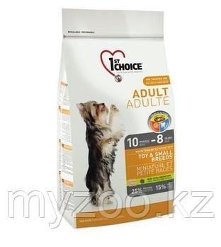 1st Choice Adult Toy and Small breeds (Фест Чойс) » корм для взросных миниатюрных и мелких пород 7кг