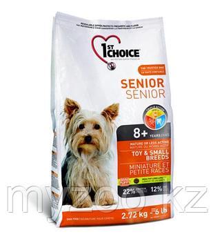 1st Choice Senior Toy and Small breeds (Фест Чойс) » корм для пожилых миниатюрных и мелких пород 2,7г