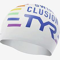 Шапочка для плавания TYR Swim Clusion Silicone Swim Cap 186