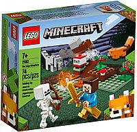 21162 Lego Minecraft Приключения в тайге, Лего Майнкрафт