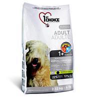 1st Choice Adult Hypoallergenic (Фест Чойс) Гипоаллергенный Беззерновой корм для взрослых собак 2,7 кг