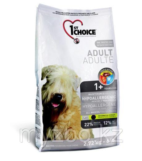 1st Choice Adult Hypoallergenic (Фест Чойс) Гипоаллергенный Беззерновой корм для взрослых собак 6 кг