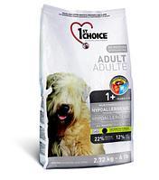 1st Choice Adult Hypoallergenic (Фест Чойс) Гипоаллергенный Беззерновой корм для взрослых собак 12 кг