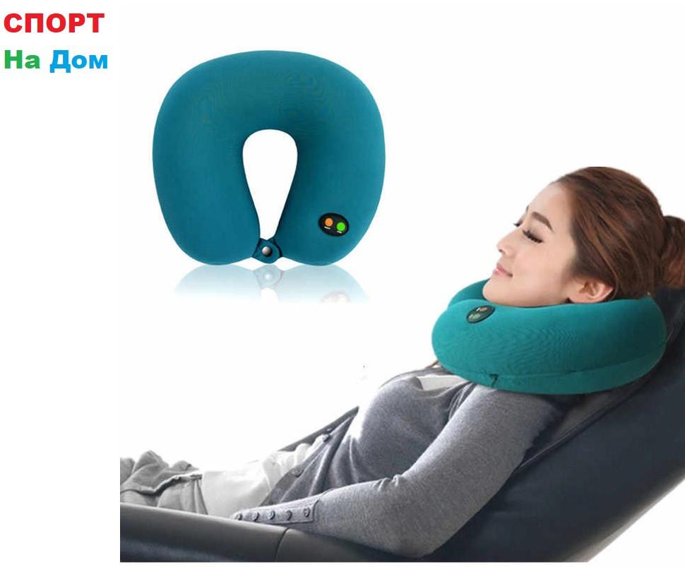 Массажная подушка - подголовник Cervical massage pillow GLF-208