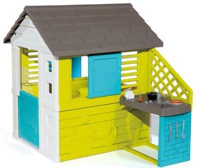 Игровой домик с кухней (голубой) 810711