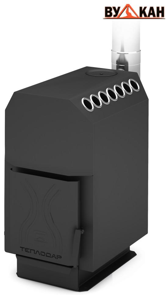 Отопительная печь ТОП модель 200 со стальной дверцей