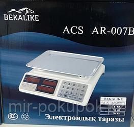 Торговые электронные весы Bekalike ACS AR-007 до 30 кг
