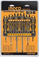 Универсальный набор отверток INGCO HKSD1828, 18 шт