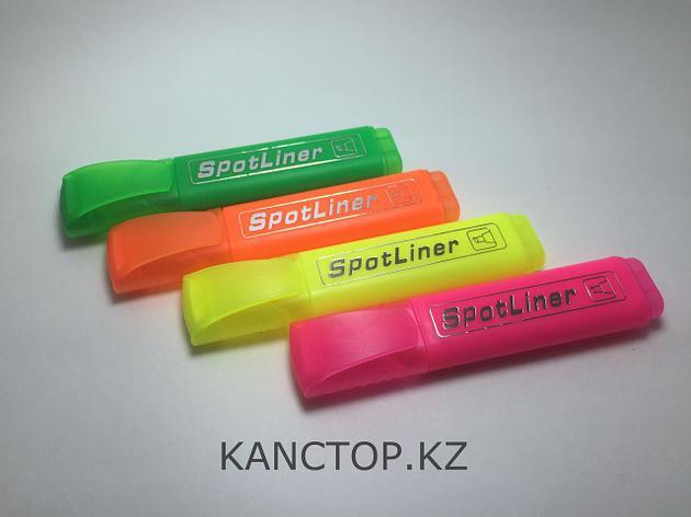 Маркер текстовой для выделения Spotliner 4 цвета, фото 2