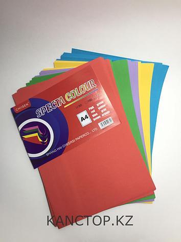 Бумага для принтера цветная обычная А4  Chiisen Specta colour,Ассорти 5 цветов, фото 2