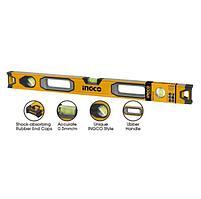 Строительный уровень, пузырьковый INGCO HSL08200 INDUSTRIAL, 200 см