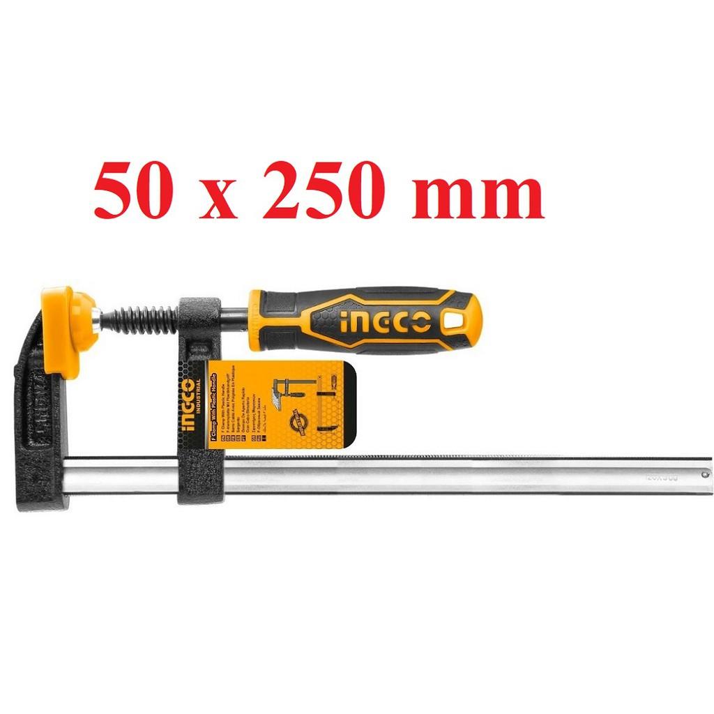 Струбцина, INGCO HFC020503 INDUSTRIAL, 50х250мм