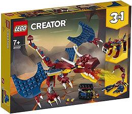 31102 Lego Creator Огненный дракон, Лего Креатор