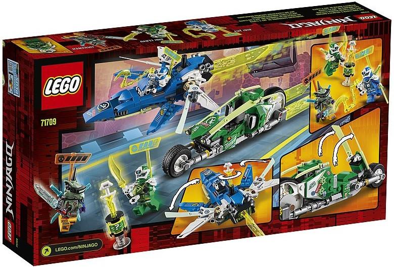 71709 Lego Ninjago Скоростные машины Джея и Ллойда, Лего Ниндзяго - фото 2