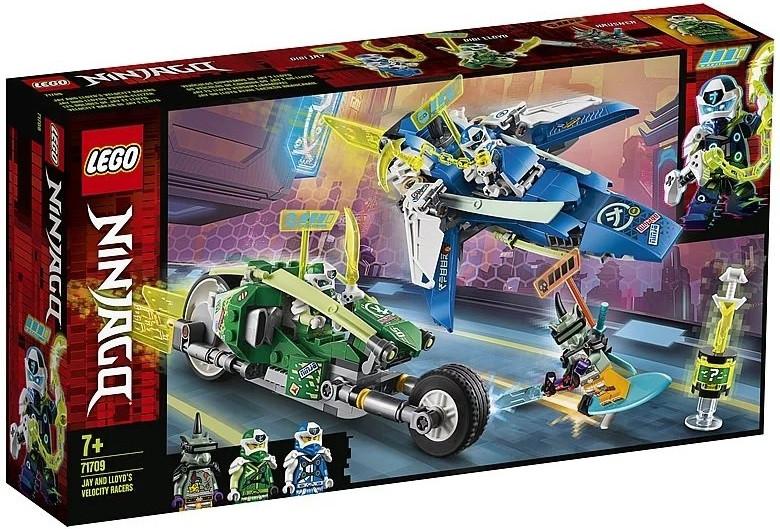 71709 Lego Ninjago Скоростные машины Джея и Ллойда, Лего Ниндзяго - фото 1