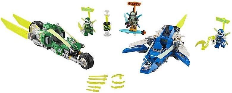 71709 Lego Ninjago Скоростные машины Джея и Ллойда, Лего Ниндзяго - фото 3